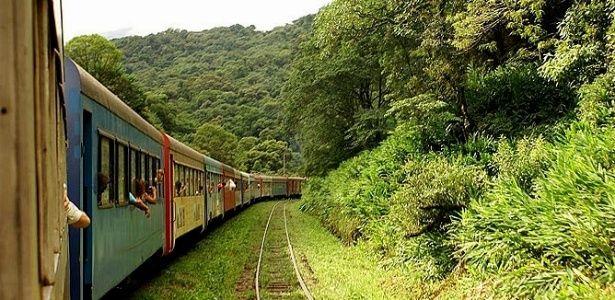Passeio de trem para Morretes, no Paraná, revela história e belas paisagens no trajeto - 21/05/2010 - UOL Estilo de vida