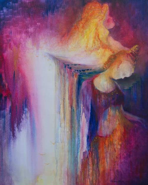 """""""Rising Beauty"""" by Melanie Meyer from Emergence Art Gallery in Cape Town"""
