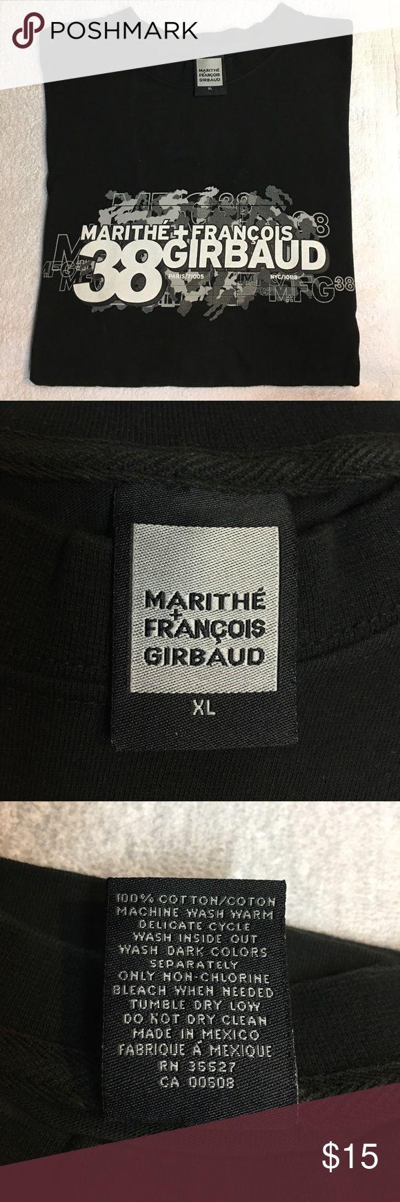 Marithe Francois Girbaud Men's T-Shirt Marithe Francois Girbaud Men's T-Shirt. GUC. No rips or tears. 100% Cotton. Machine washable. Smoke Free Home. Marithe Francois Girbaud Shirts Tees - Short Sleeve