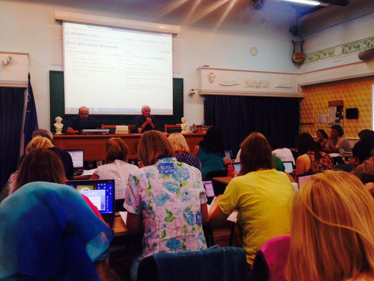 The first day of the Russian Course!  (Sept. 2014, Alonissos)