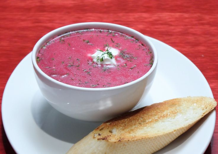 this red borscht is so good it'll make you say sorry, grandma, it's better than yours!