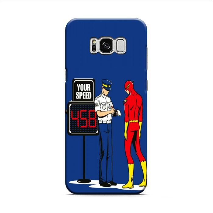 The Flash Speeding Ticket Samsung Galaxy S8 3D Case
