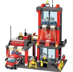 Alarm Educational Toys Birthday Gift Brinquedo City #Firedepartment Building Blocks Compatible with Lego Fire. http://highoctane.gobrlink.com/wwwfiredepartmentstorecom/collections/firedepartmenttoys