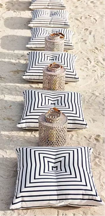 Meet your new floor plan: Comfy, coastal pillows that perfect the art of lounging around. These are outfitted in weather-hardy fabric and go-anywhere colors, so you can layer them with abandon. Shop all outdoor lounge at Serena & Lily.