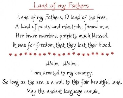 Learn the words to the Welsh national anthem and sing along!