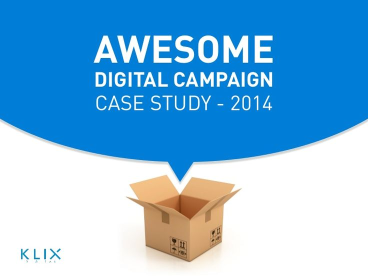 A simple slide curating some of the best digital campaign case studies from around the world