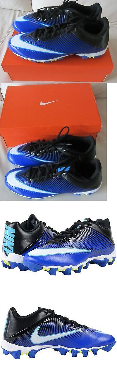 Youth 159118: Nike Vapor Shark 2 Big Boys Youth Football Cleats Shoes Racer Blue White Sz 11 -> BUY IT NOW ONLY: $32.99 on eBay!