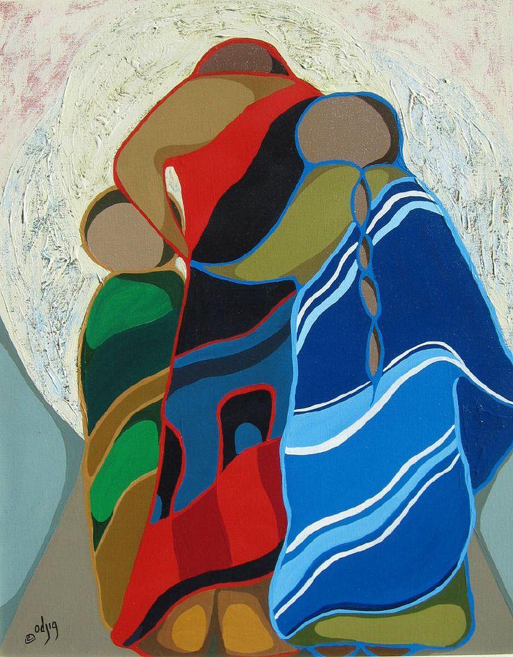 Homeward Bound ~ by Daphne Odjig CM OBC LLD RCA presented by Hambleton Galleries