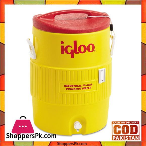 Buy Igloo Industrial Water Cooler 04101 At Best Price In Pakistan Water Coolers Beverage Cooler Igloo
