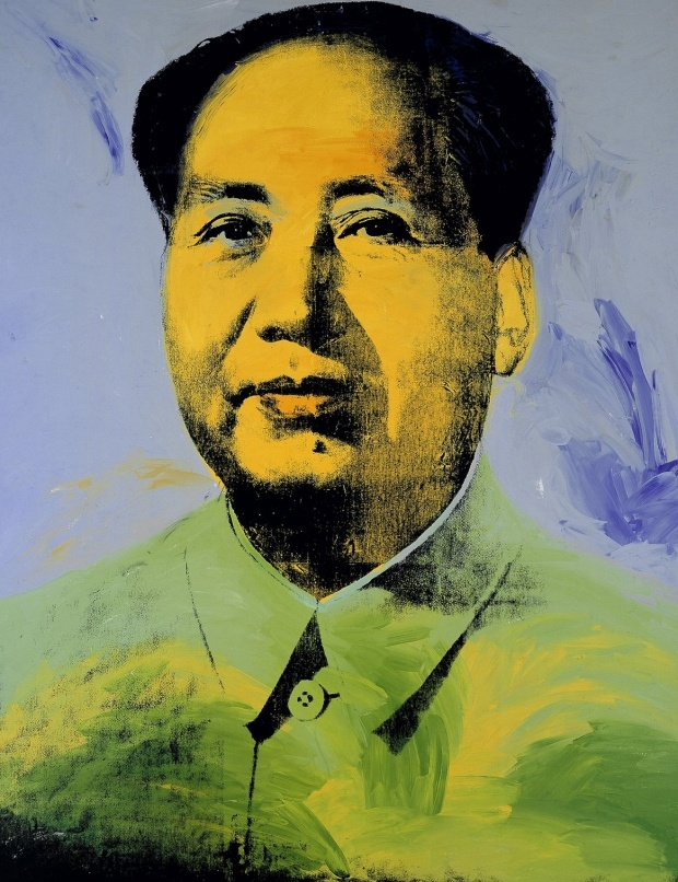 Mao by Andy Warhol, 1972 ♦️More Pins Like This At FOSTERGINGER @ Pinterest ♦️