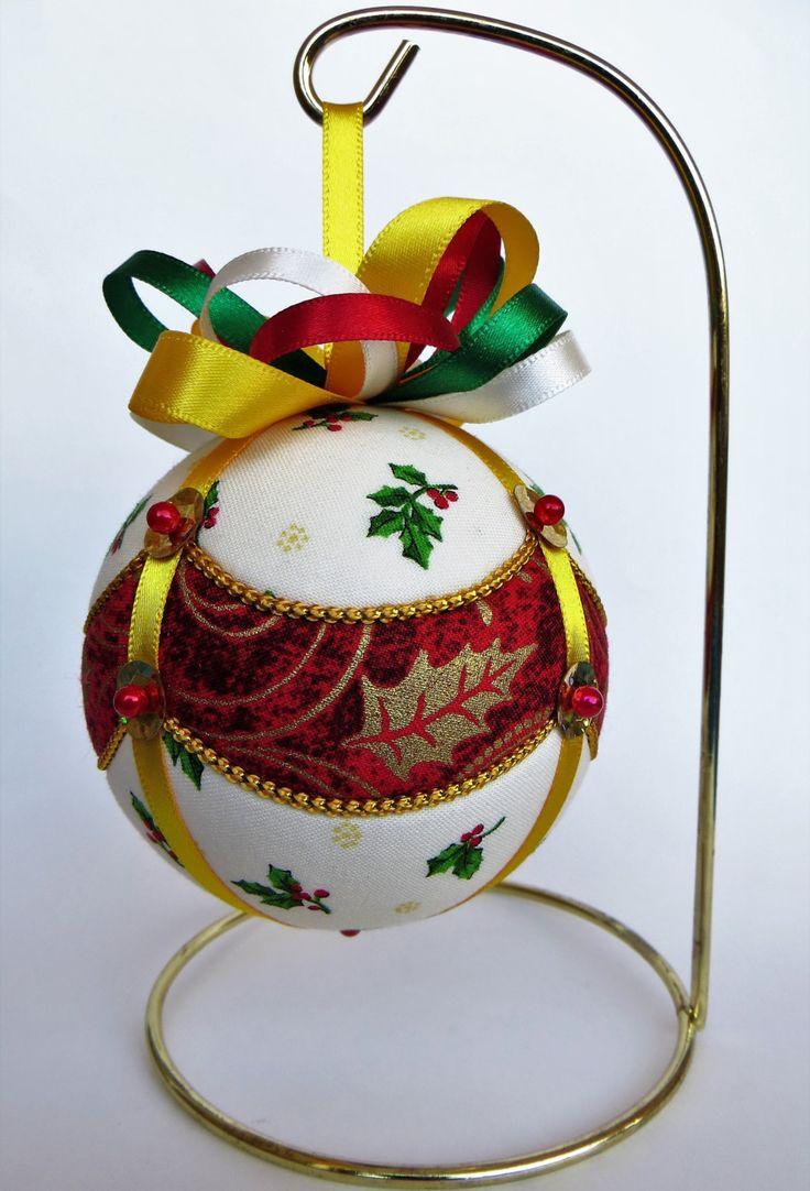 Asian christmas ornaments - Christmas Ornament Draped Holly