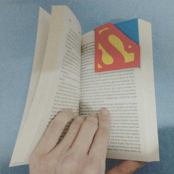 Dc comics Superman The Movie Bookmark DIY Designer Me Kendinyap ... #Superman #bookmark #DIY #Designer #me #kendinyap
