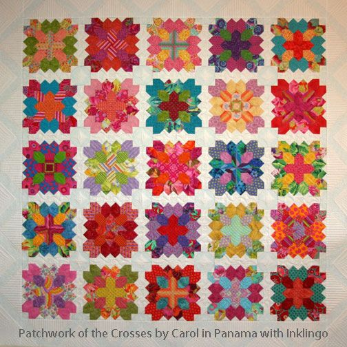 Patchwork of the Crosses by Carol in Panama with Inklingo!