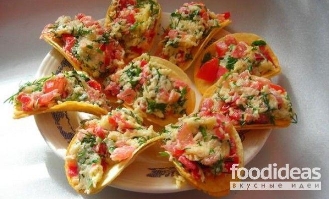 Закуска на чипсах - рецепт приготовления с фото | FOODideas.info