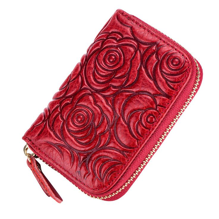 Genuine Leather Women Card Holder Wallets High Quality Female Rfid Security Credit Card Holders Women Pillow Roses Flower Purses -  Buy online Genuine Leather Women Card Holder Wallets High Quality Female Rfid Security Credit Card Holders Women Pillow Roses Flower Purses only US $11.30 US $7.91. Here we will provide the best deals of finest and low cost which integrated super save shipping for Genuine Leather Women Card Holder Wallets High Quality Female Rfid Security Credit Card Holders…