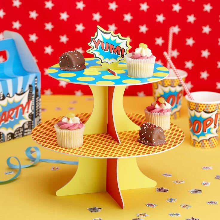 support gteau super hros super hero cake