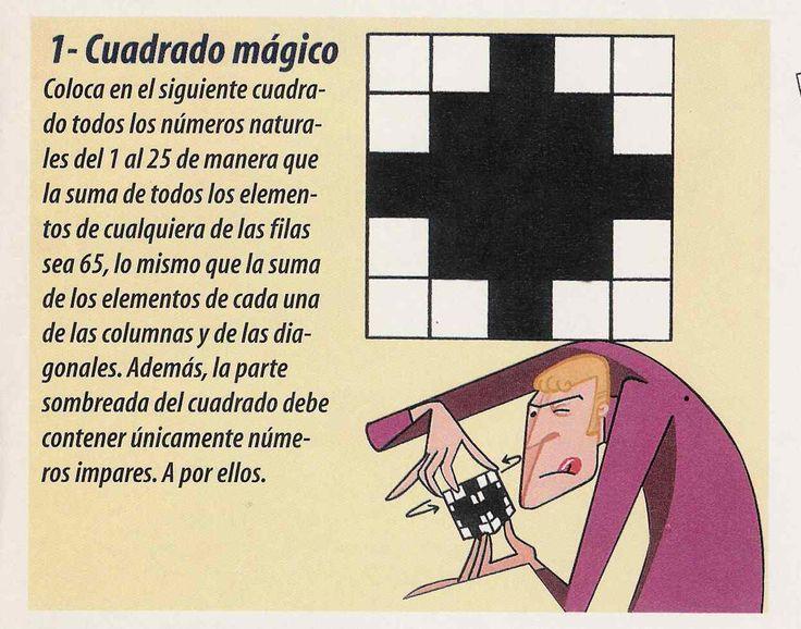 Pasatiempos Matemáticos de la Prensa