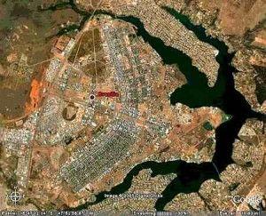 Brasilia from above