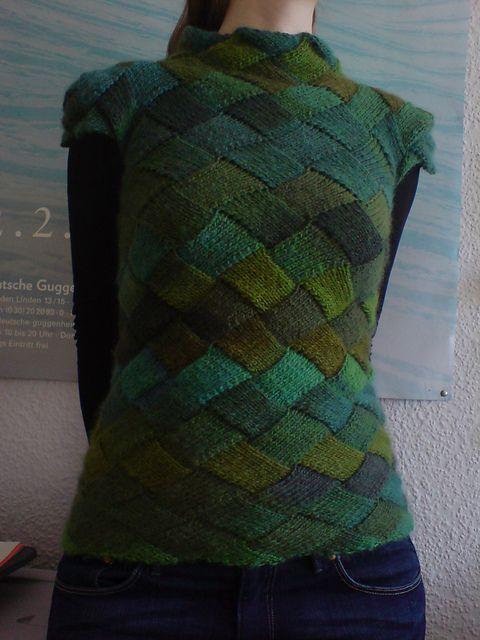 1026 Best Domino Breien En Entrelac Images On Pinterest Knit