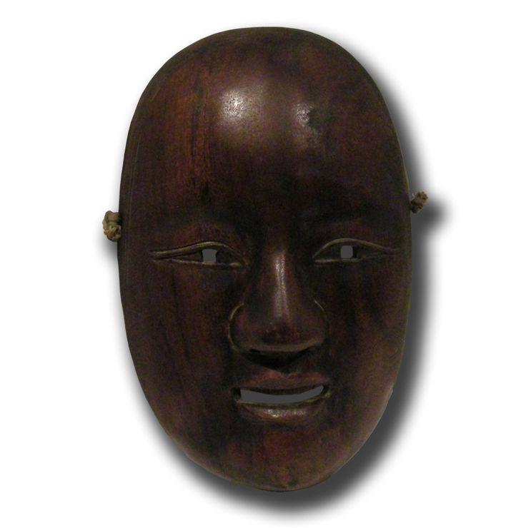 Masque de théâtre NÔ Waka Onna
