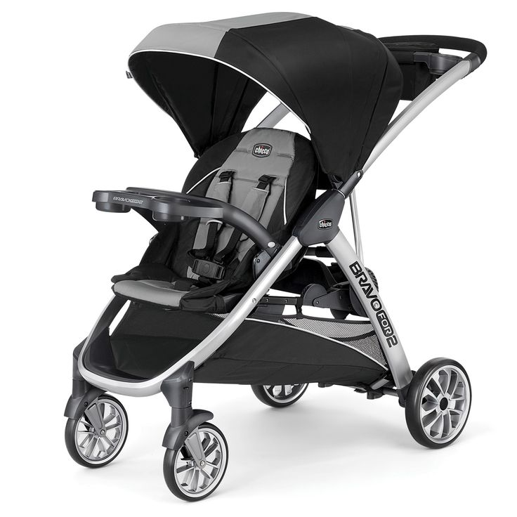 Chicco Bravo For 2 Double Stroller Zinc Baby strollers