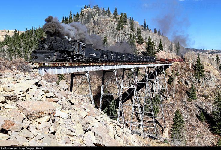 RailPictures.Net Photo: DRGW 489 Denver & Rio Grande Western Railroad Steam 2-8-2 at Osier , Colorado by Ryan S.