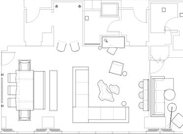 17 best images about floor plans on pinterest penthouse - Delano las vegas two bedroom suite ...