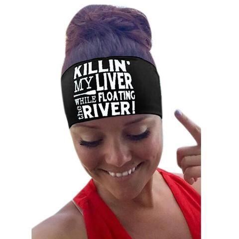 Unisex Letter Sporting Sweatband Stretch Headband Hair Band Headbands Women Outdoor Fitness Running Safety Sweat Headbands