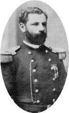 Julio Argomedo, Teniente Coronel. En 1860 ingresó como soldado en el Regimiento 4° de Línea. Participó en la guerra del pacífico como Capitán del Regimiento Santiago 5° de Línea y en enero de 1880 fue nombrado miembro del Estado Mayor General. Luchó heroicamente en las batallas de Chorrillos y Miraflores.