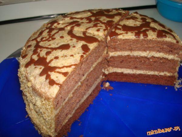 Prababkina orechová torta