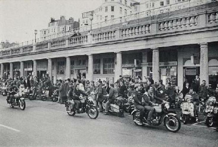 Quadrophenia Film Being Filmed in Brighton East Sussex England in 1979