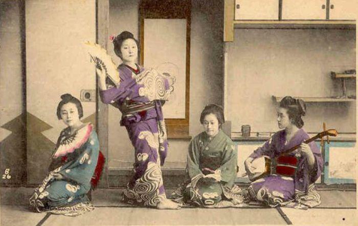 Человек искусства. Гейша - История и культура Японии