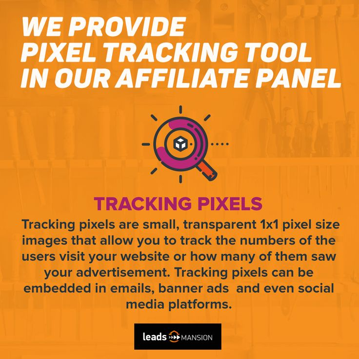 Thinking about ways to keep an 👁 on your #traffic? We provide a #pixeltracking tool 🔧🔧 in our #affiliate panel to help you track your leads📊