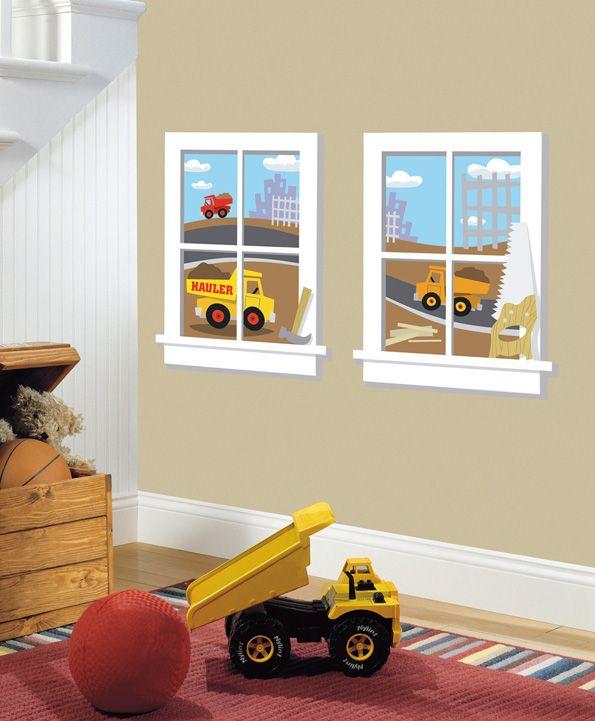 Construction Junction Window Giant Sticker
