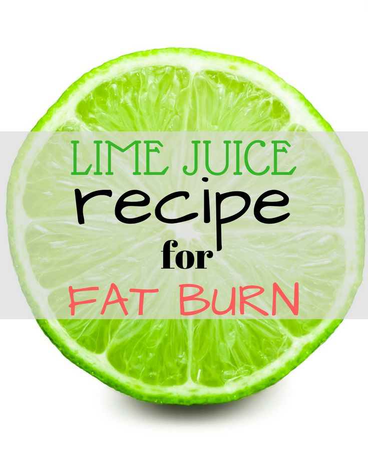 Lime juice recipe for extreme fat burn! Try it now!