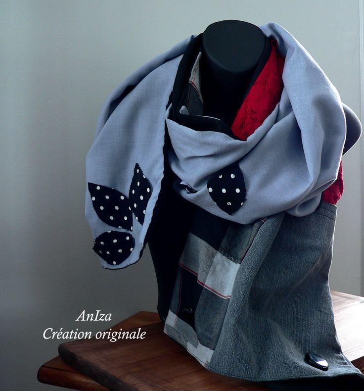 foulard, fait par Annie