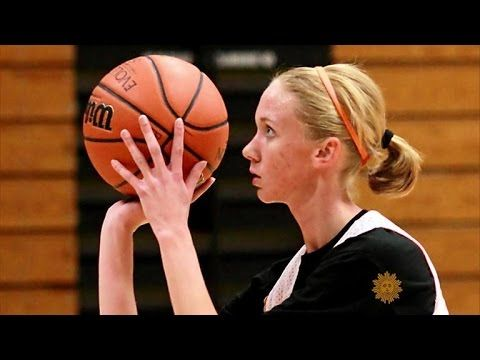 Girl with terminal cancer living for basketball - YouTube