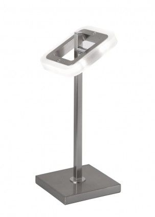 Wofi DAVIS 507 LED Schreibtischleuchte, nickel-matt, chrom