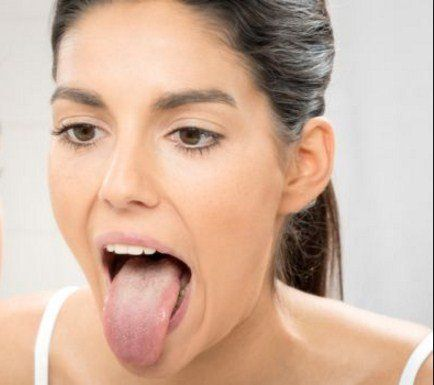 Stick your Tongue Out - 8 Exercises And Home Remedies Tips To Get Rid Of Neck Fat And Double Chin fast