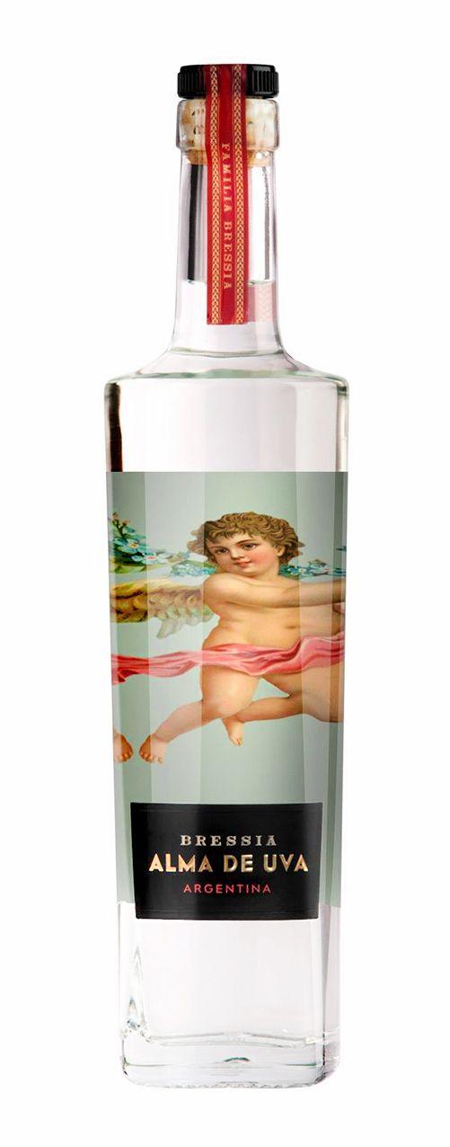 Alma de Uva by Bressia  #grappa #packaging #graphicdesign #spirits