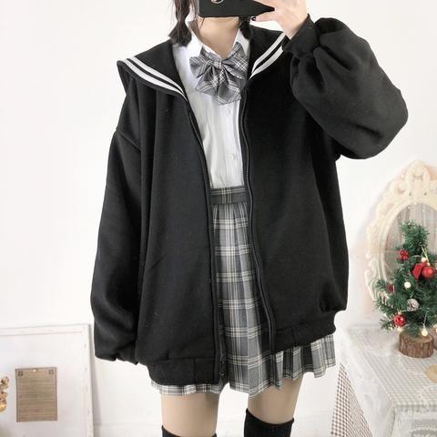 Zipper Sailor Sweater SD00838