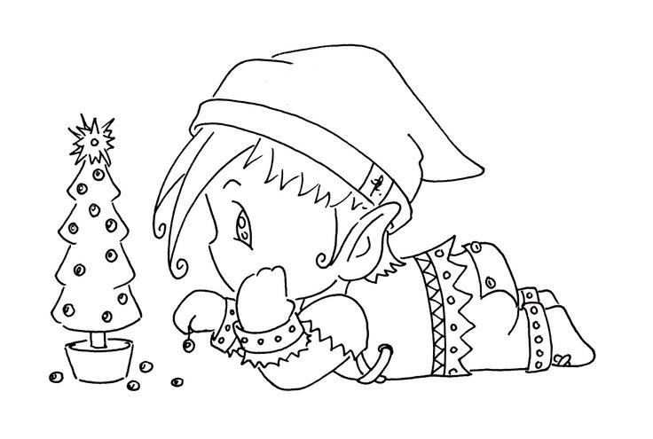 Sliekje digi Stamps: Santa's helper