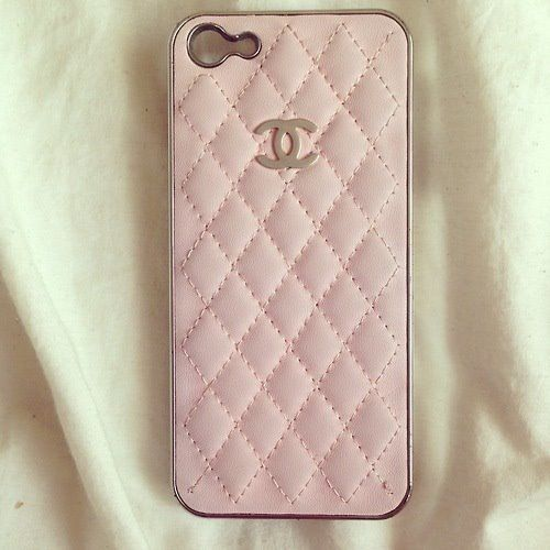 Pink chanel case