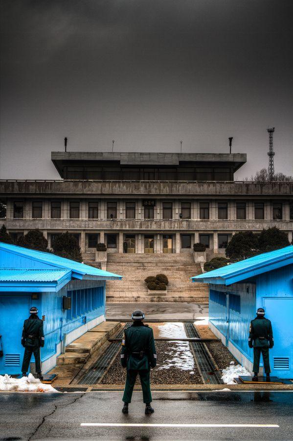 JSA, Panmunjeom - Border between North & South Korea