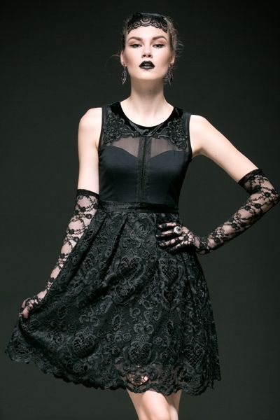 Baronial gothic style dresses