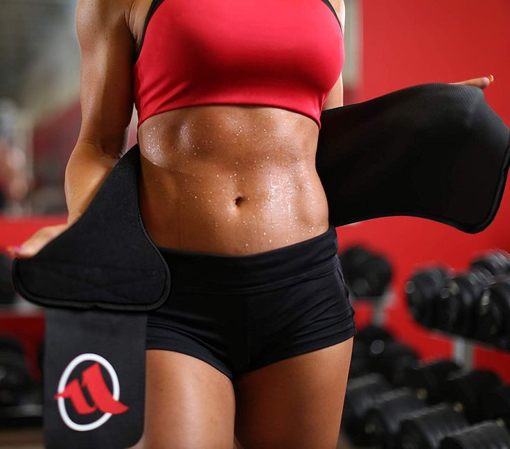 Amazon.com : Fitru Waist Trimmer Weight Loss <b>Ab Belt</b> Women ...