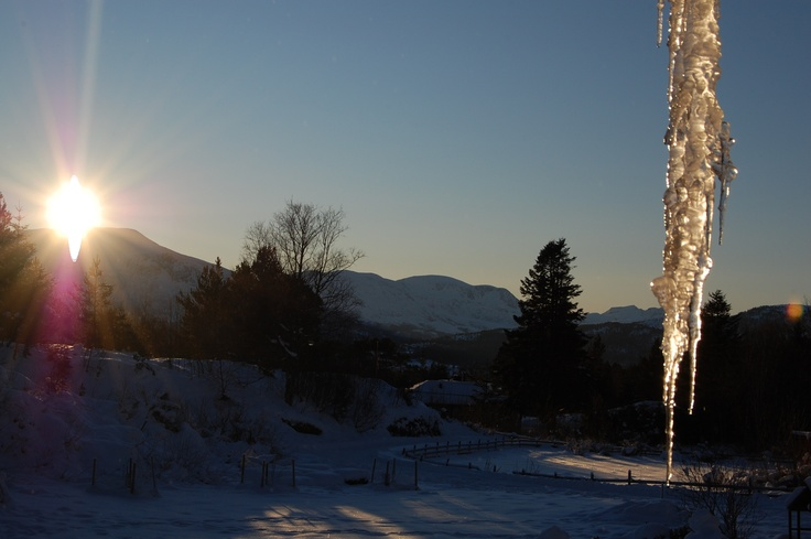 Cold.from my porch.  Frei.Møre og Romsdal.Norway