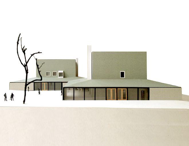 Masterplan and community center, undeground parking by Dierendonck Blancke Architects