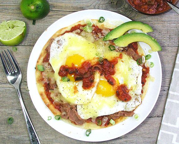 Quick & Easy Huevos Rancheros - not just for breakfast. This is a fun ...