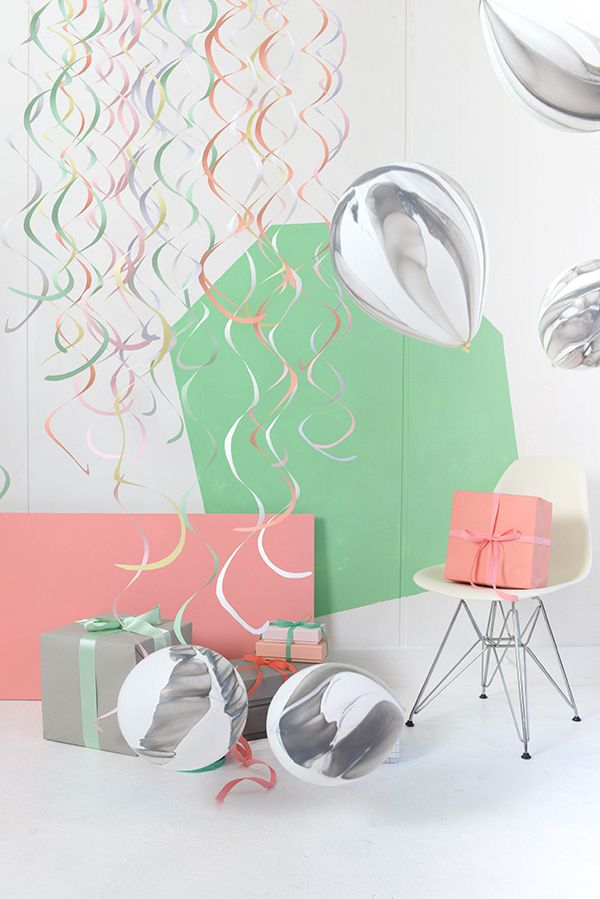Spiral Mobiles DIY | Oh Happy Day!